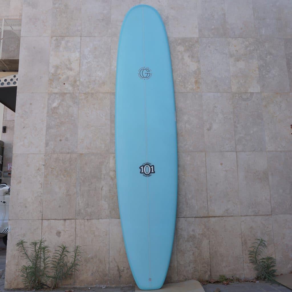 light blue long front